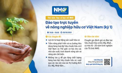 """Chương trình """"Đào tạo trực tuyến về nông nghiệp hữu cơ Việt Nam"""