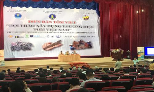 NHO-QSCert tham gia Diễn đàn Tôm Việt 2019