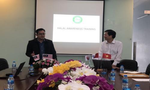 Tập huấn nâng cao nhận thức về tiêu chuẩn HALAL cho các doanh nghiệp